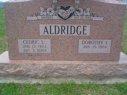 Cedric L Dee Aldridge