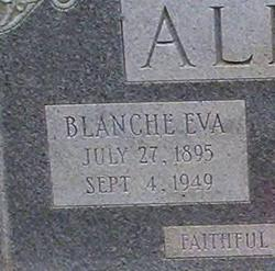 Blanche Eva <i>Smoot</i> Alley