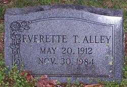 Everette T Alley