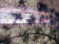Jennie <i>Byard</i> Snyder