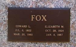 Elizabeth M Fox