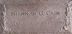 Shannon <i>Godwin</i> Cain