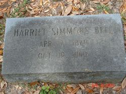 Harriet <i>Simmons</i> Bell