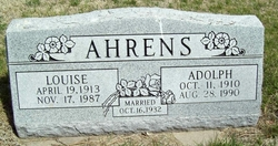 Adolph Carl Ahrens