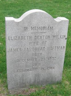 Elizabeth Denton <i>Wilkin</i> Hoffman