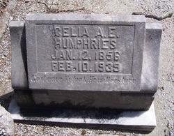 Celia Ann Elizabeth <i>Joiner</i> Humphries