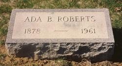 Ada Belle <i>Shutts</i> Roberts