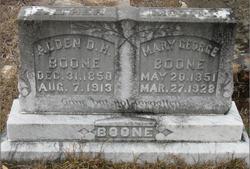 Alden D H Boone
