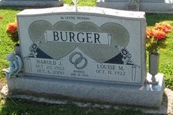 Louise Marie <i>Scherer</i> Burger