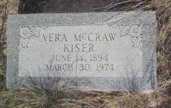 Vera Elizabeth <i>McCraw</i> Kiser