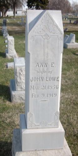 Ann Elizabeth <i>Ward</i> Lowe