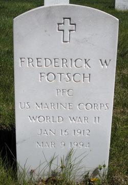 Frederick W. Fotsch
