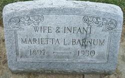 Marietta L <i>McCartney</i> Barnum