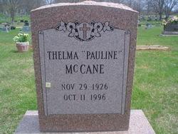Thelma Pauline <i>Owens</i> McCane