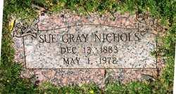 Sue <i>Gray</i> Nichols