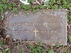 Cynthia <i>Bradley</i> Bentley