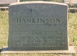 Mattie C. <i>Schwartz</i> Hankinson