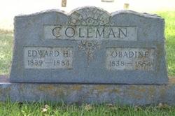 Edward Haynes Coleman