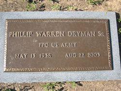Phillip W. Dryman, Sr