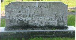 Sophia <i>Holben</i> Sowle