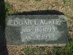 Edgar Lee Ackley