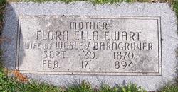 Flora Ella Ella <i>Ewart</i> Barngrover