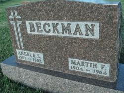 Martin Francis Beckman, Sr