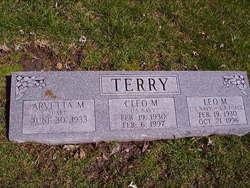 Cleo M Terry