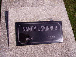 Nancy Isabelle Nannie Belle <i>Terry</i> Skinner