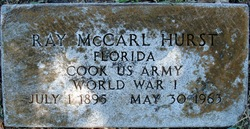 Ray McCarl Hurst