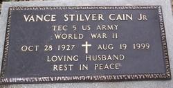 Vance Stilver Cain, Jr