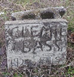 Clemie <i>Childers</i> Bass