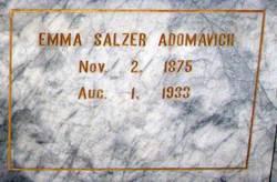Emma Salzer Adomavich