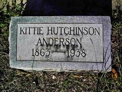 Kittie <i>Hutchinson</i> Anderson