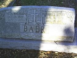 Charles Henry Baer