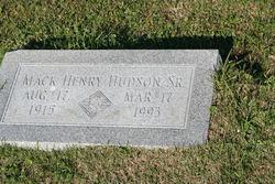 Mack Henry Hudson, Sr