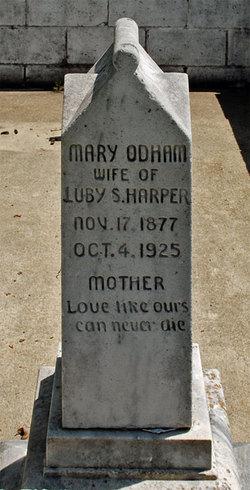 Mary <i>Odham</i> Harper