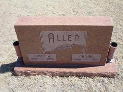 Chloe H. <i>Blakemore</i> Allen