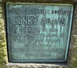 Henry Adams, Sr