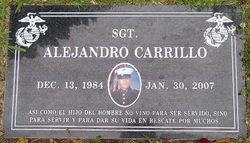 Sgt Alejandro Carrillo