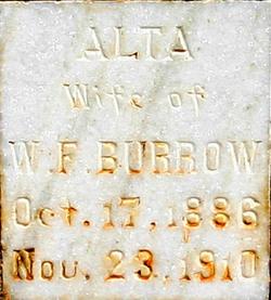 Alta Anna <i>Higgins</i> Burrow