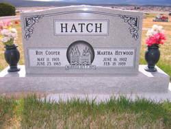 Martha <i>Heywood</i> Hatch