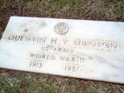 Quentin Vennis Harold Manson
