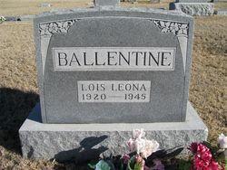 Lois Leona <i>Langdon</i> Ballentine