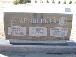 Virginia L. <i>VanHorn</i> Arnberger