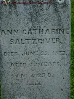 Ann Catharine Saltzgiver