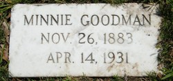 Minnie Goodman