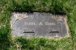 Ethel A <i>Henry</i> Zerbs