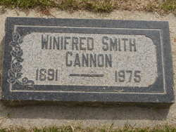 Annie Winifred <i>Smith</i> Cannon