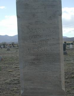 Mary Ann <i>Phillips</i> Hessick
